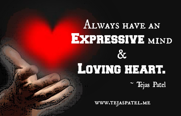 An Expressive Mind & Loving Heart