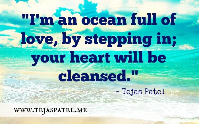 I'm an ocean full of love
